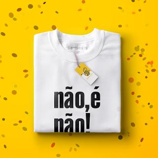 Camiseta para carnaval - Não, É Não!