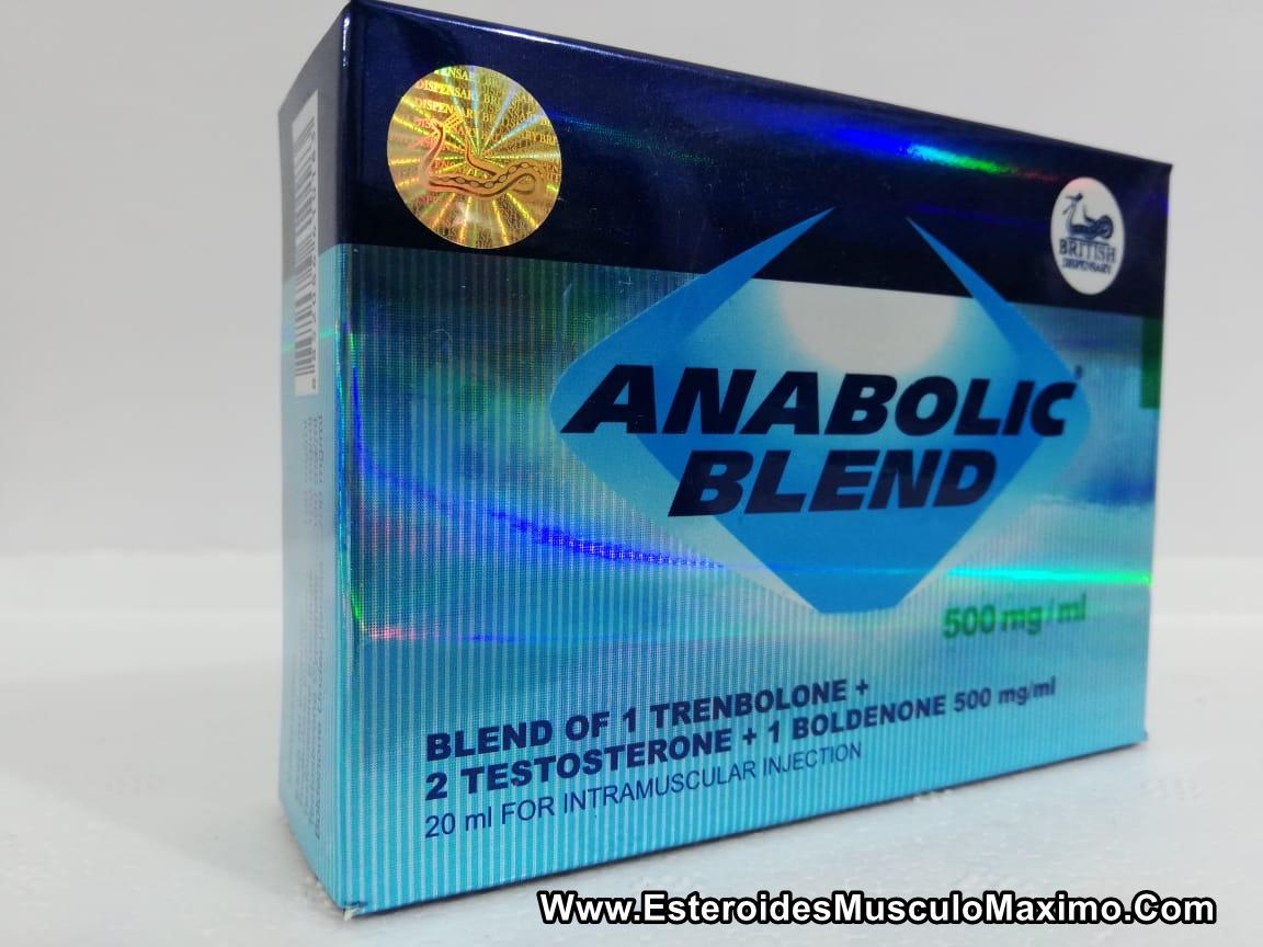 Anabolic Blend 500 mg x 20 ml - precio ( $550 pesos