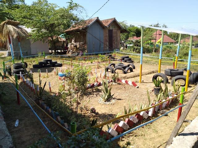 Hasil Kerja Keras Membangun Taman Ceria Batangan KKN 90 Batangan