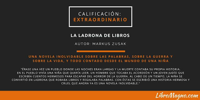 """Evaluación de """"La Ladrona de Libros"""""""