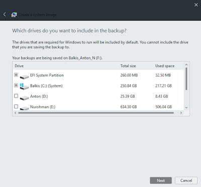 Nggak Ribet Kok!!! Cara Backup Sistem Operasi Windows 10