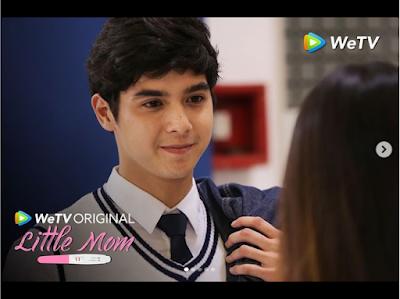 sinopsis Little Mom episode 3 film terbaru Natasha Wilona Al Ghazali, Naura bertemu Keenan dan Yudha di Bali