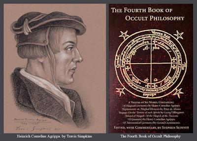 Heinrich Cornelius Agrippa. Fourth Book of Occult Philosophy. Stephen Skinner. by Travis Simpkins