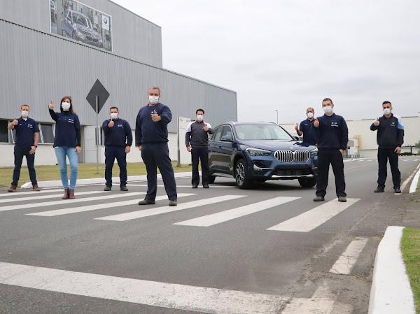 BMW X1 2022 fabricado no Brasil