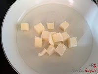 Mantequilla en sartén