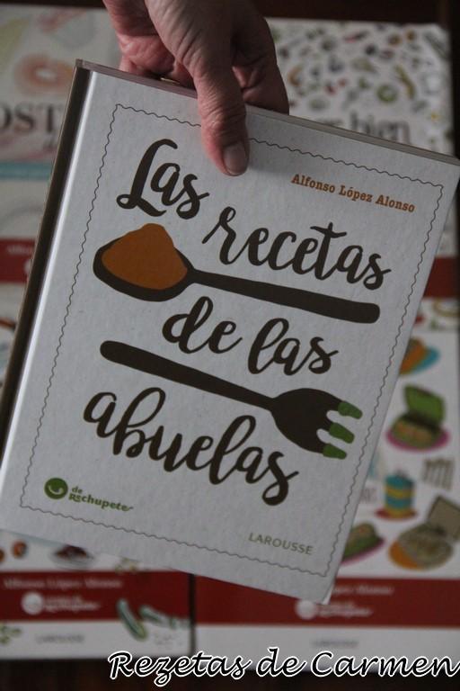 """Las recetas de las abuelas, """"de Rechupete"""" y Feliz dia del libro"""