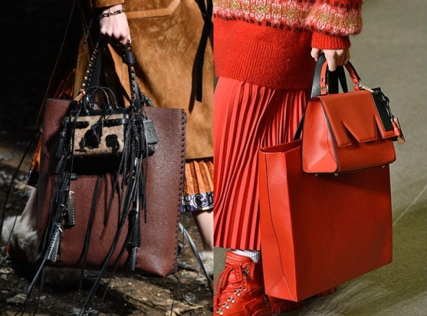 Fall-Winter 2018-2019 Women's Brand Leather Purse Fashion Trends