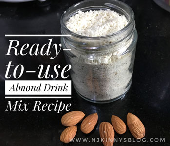Homemade Badam (Almond) Drink Mix Recipe- Njkinny's Blog