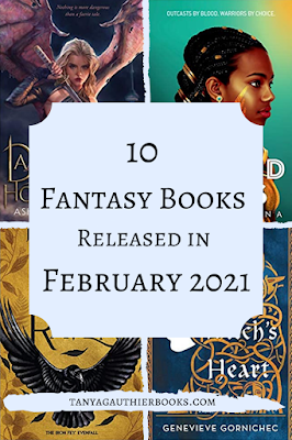 10 Fantasy Books Released in February 2021