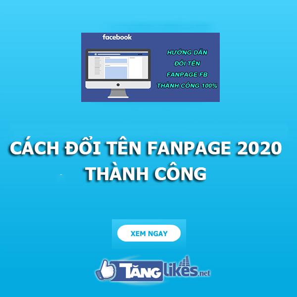 doi ten fanpage 2020