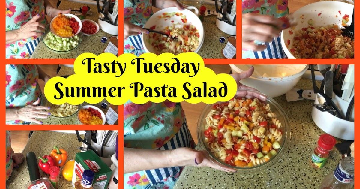 My Life As Mama Jodi: Tasty Tuesday ~ Summer Pasta Salad