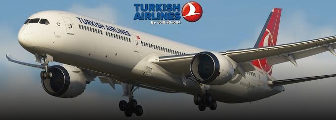 Flight Simulator 2020 - B787-10 Turkish Airlines TC-LLC Liveries [HD]