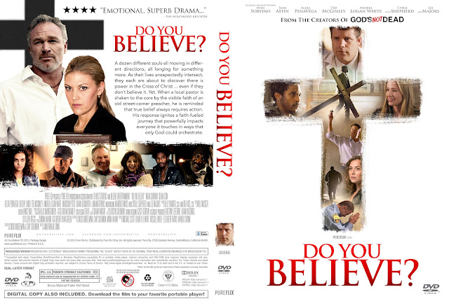 Do You Believe? (2015) DVD Cover
