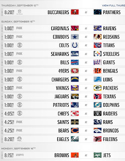 NFL Week 2 Pick'em