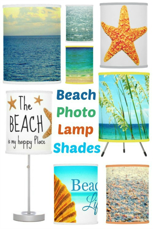 Beach Photo Lamp Shades