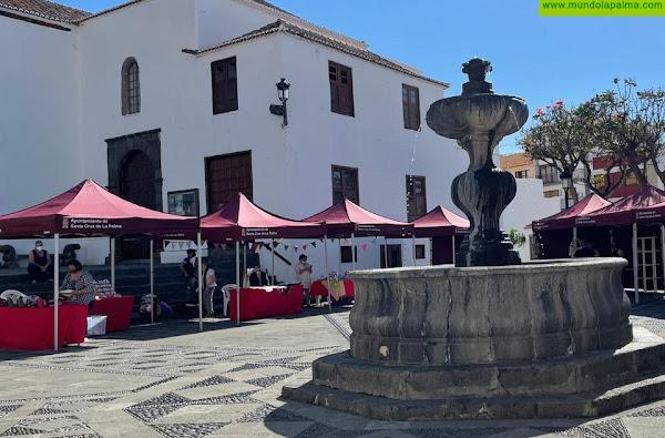 Santa Cruz de La Palma traslada la Feria de Artesanía a la Plaza de San Francisco