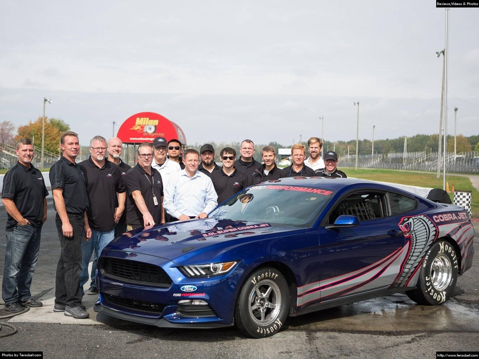 Đánh giá xe Ford Mustang Cobra Jet 2016 & giá xe
