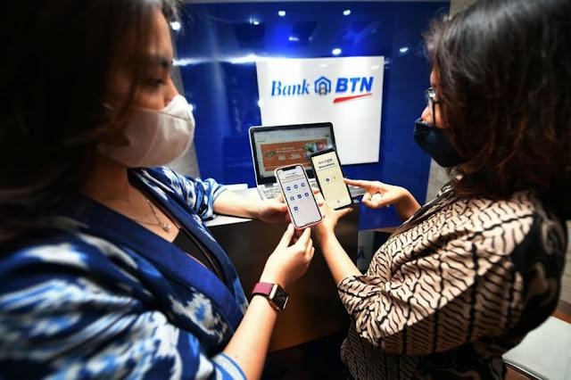 Nilai Transaksi Mobile Banking BTN Meningkat 44%