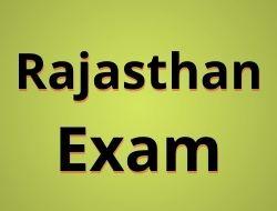 rajasthan exam