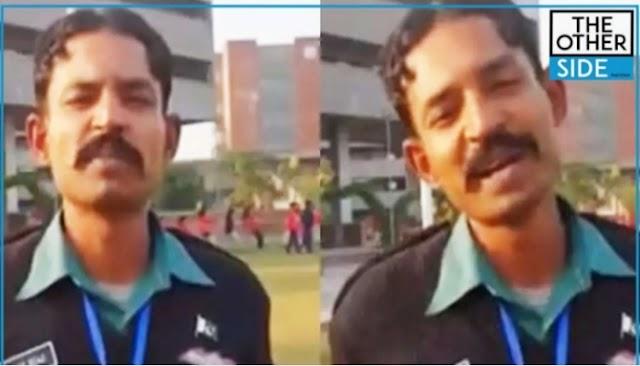 Pakistani Kid Succeeds In Teaching English To His School Guard