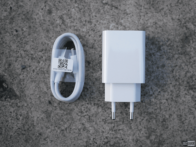 USB-C cable and power brick