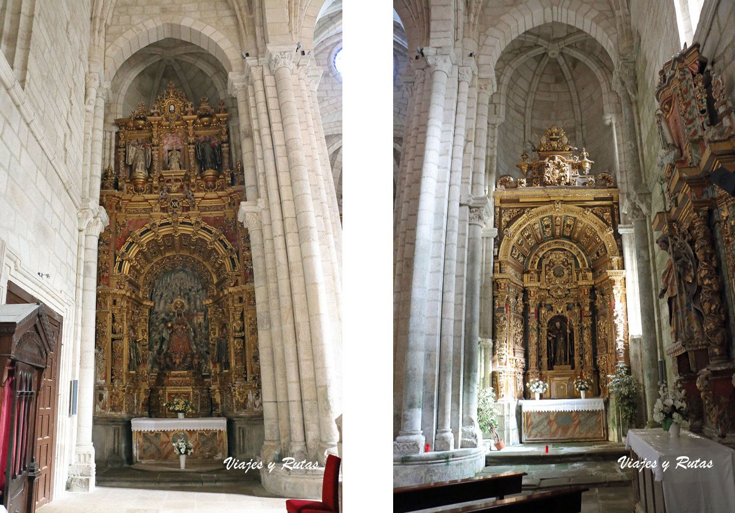 Retablos de la Iglesia de Santo Estevo de Ribas de Sil