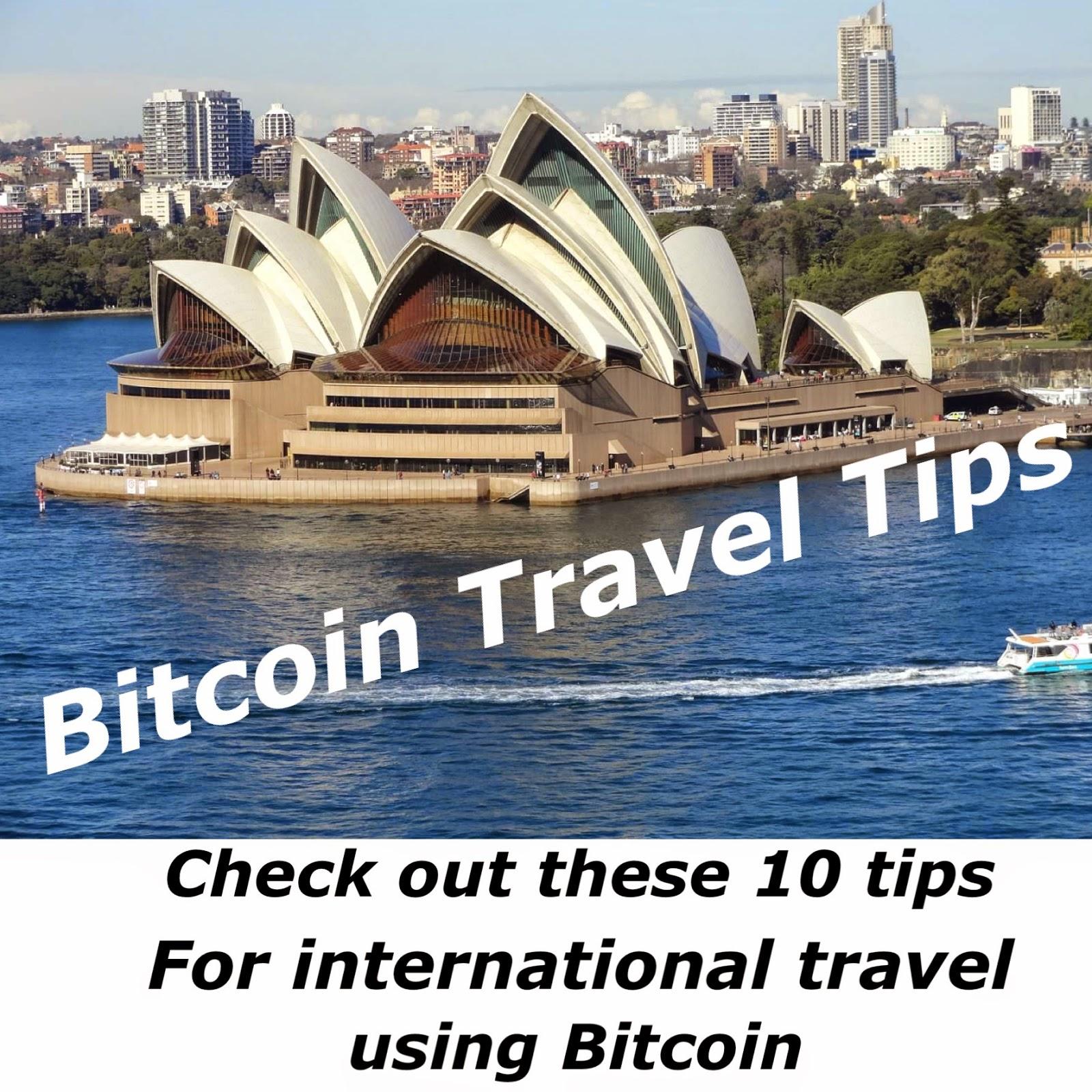 bitcoin travel agency