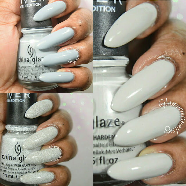 "China Glaze The Give Collection ""Five Rules, Intelligence, Integrity, & Courage. The Outer Edge"" Swatches & Review"