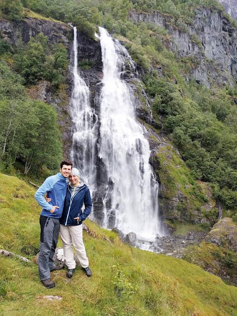 водопад норвегия, поход, природа, зелень, свежесть, лето в норвегии, погода