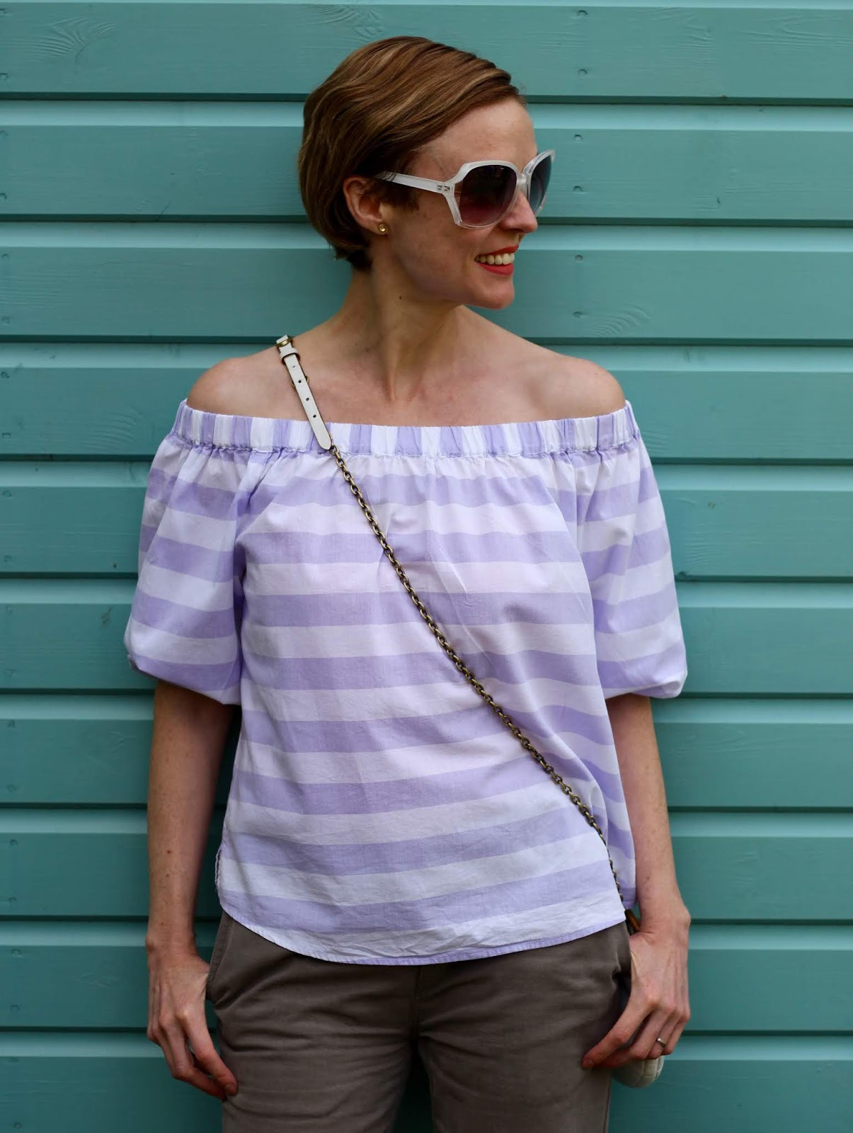 Lilac, white and soft khaki | Alternative Basics | Fake Fabulous