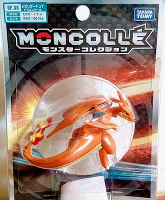 Mega Charizard Y figure Dragon Tail Takara Tomy Monster Collection MONCOLLE SP series
