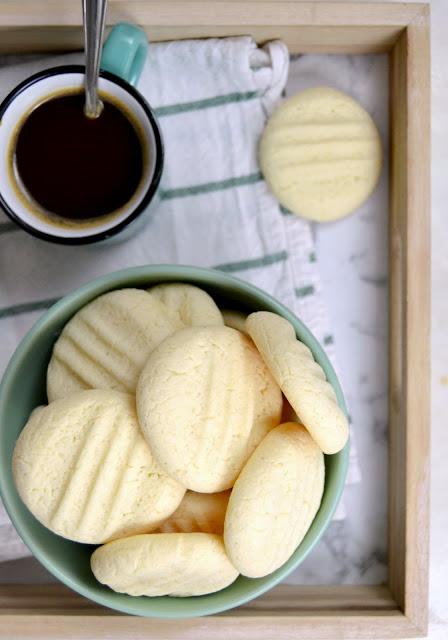 Galletas de leche condensada y maicena