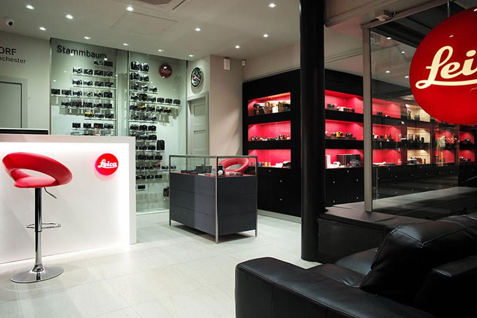 Магазин Leica в Манчестере
