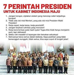 Inilah  Sikap Yang Harus  Sesuai Dengan  Visi Misi Presiden Dan Wakil Presiden  Indonesia Maju