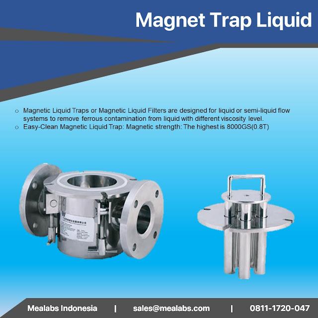 magnet trap liquid