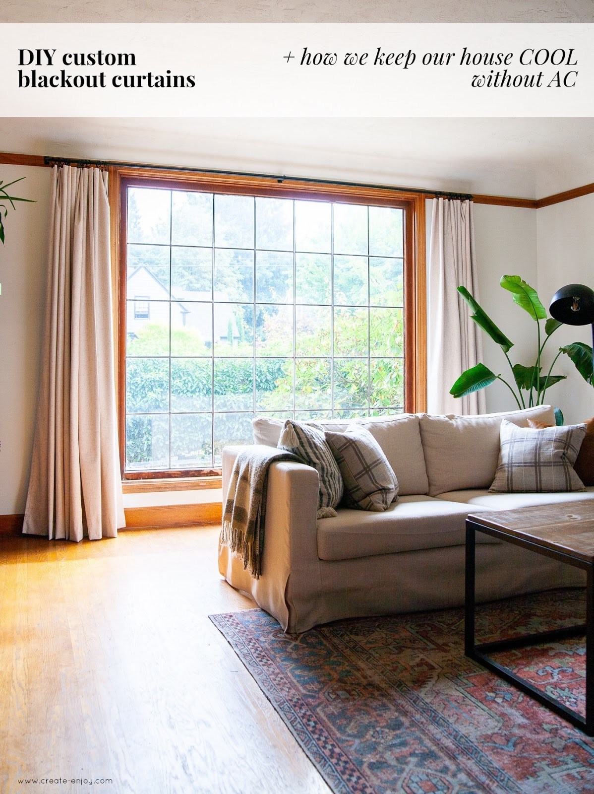 Affordable Blackout Curtain Diy And How We Keep Our House