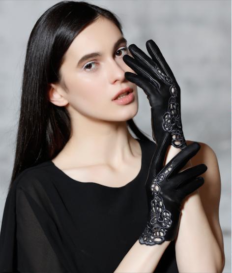 Luvas de Couro Feminina - women's gloves