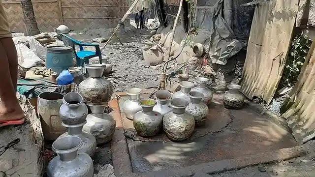বিদ্যুৎচালিত মোটরই ভরসা, পানীয়জলের তীব্র সংকট বাঁশখালীতে