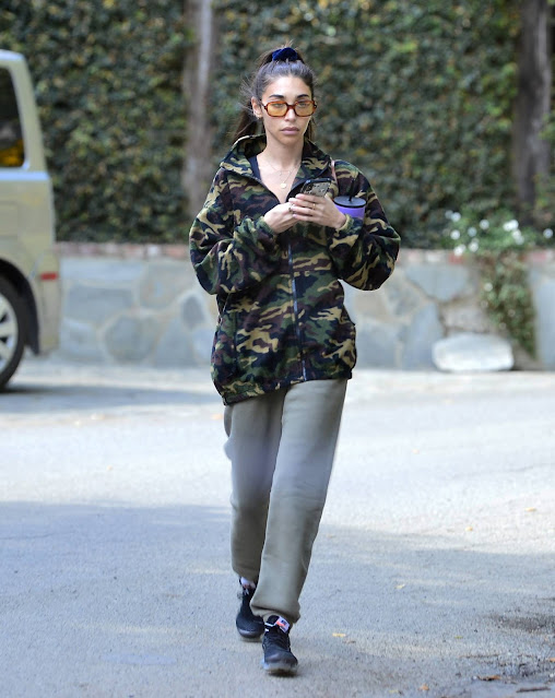 Chantel Jeffries – Seen after morning workout in Los Angeles