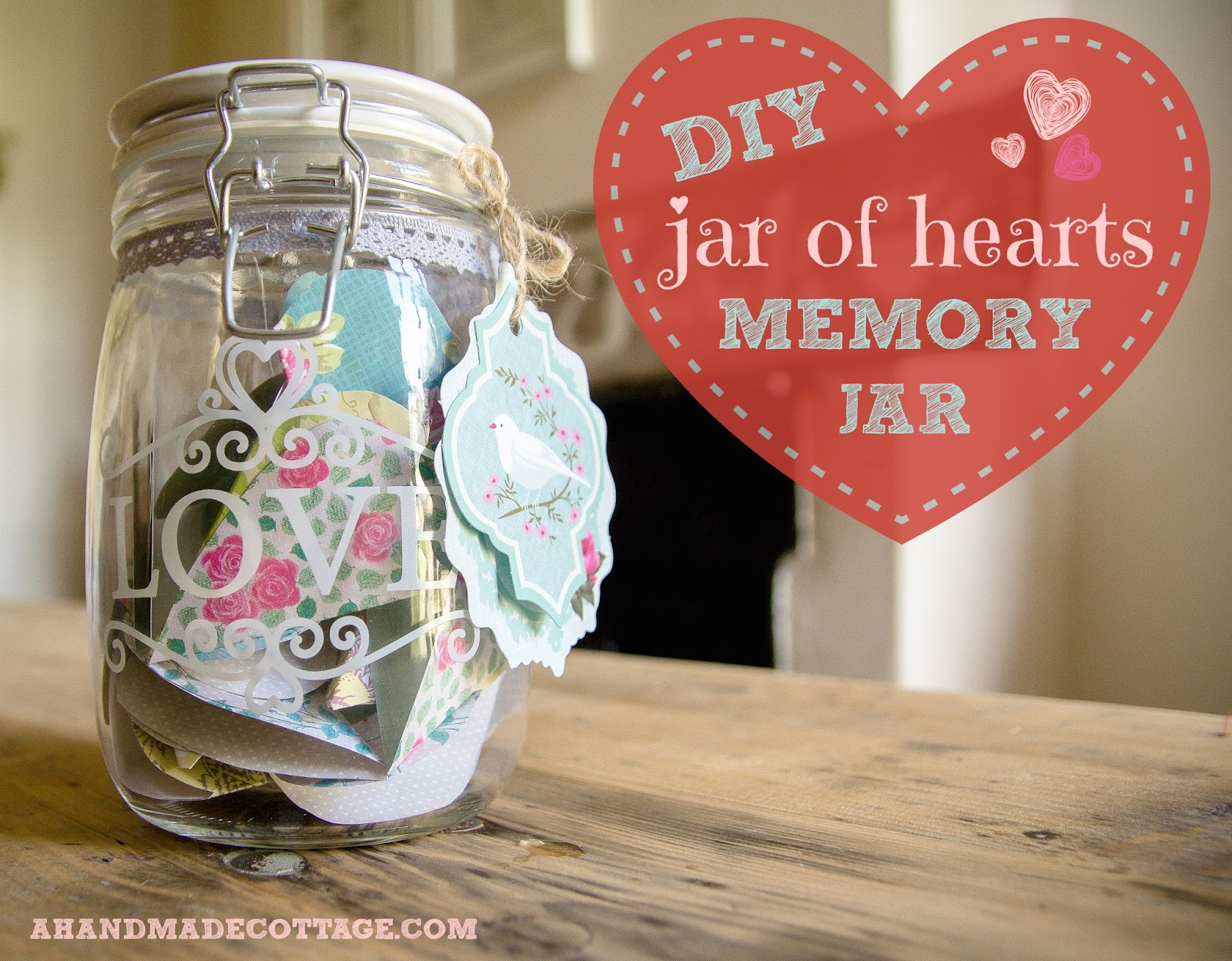 Memory Jars make beautiful gifts They are
