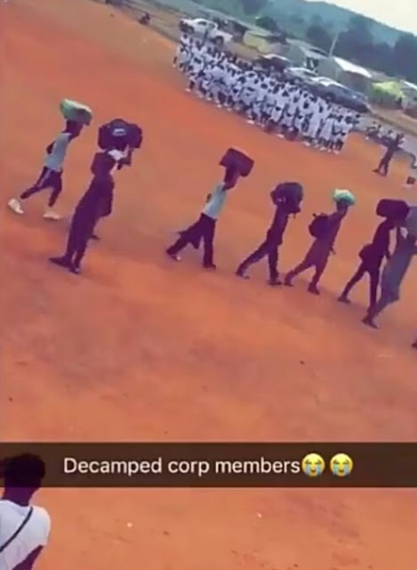 NYSC Members Decamped For Smoking Weed, Other Drugs In Camp