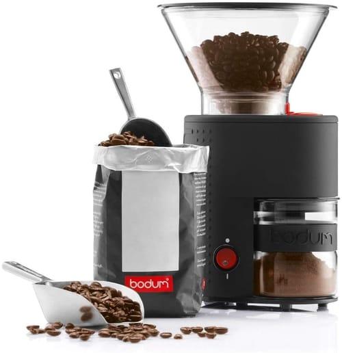Bodum Bistro Coffee Grinder Bundle