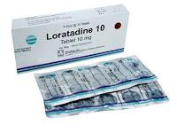 Loratadine - Kegunaan, Dosis, Efek Samping
