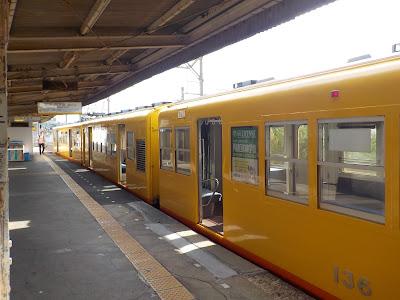 三岐鉄道北勢線の列車車両