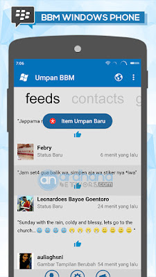 BBM Windows Phone V3.2.5.12