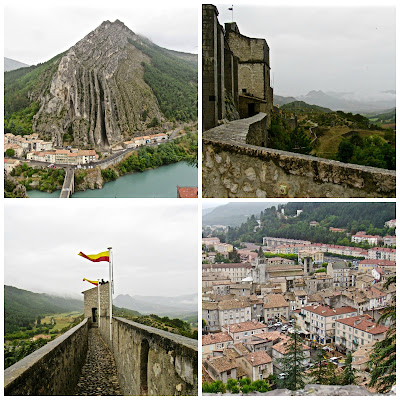 View from Sisteron fortress