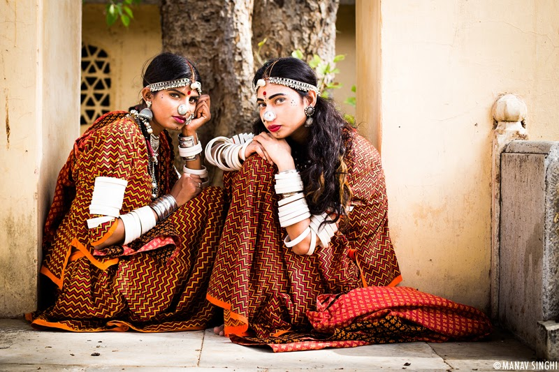 Sangeeta & Naina Khan for Campaign Shoot of Rajasthan Style Fest