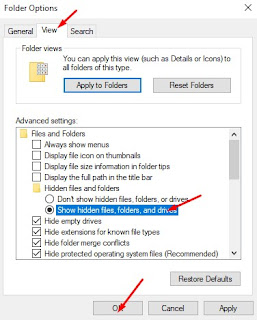 Cara Menyembunyikan File dan Folder di Windows 10