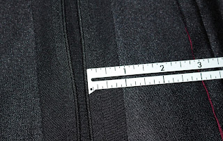 TNG season 2 admiral uniform - trousers zipper seam allowance