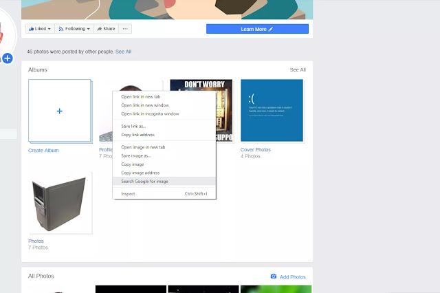استخدام Facebook للبحث عن رقم